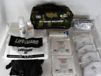 KIT EMERGENZA SANITARIA COVID-19 MEDIUM - VERDE MILITARE