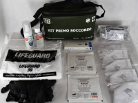 KIT EMERGENZA SANITARIA COVID-19 MEDIUM SEMIRIGIDA - VERDE