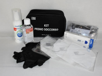 KIT EMERGENZA SANITARIA COVID-19 SMALL - NERO