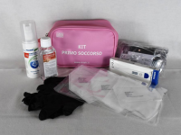 KIT EMERGENZA SANITARIA COVID-19 SMALL - ROSA