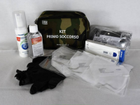 KIT EMERGENZA SANITARIA COVID-19 SMALL - VERDE MILITARE